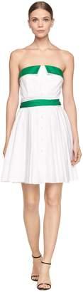 Milly MillyMilly Exclusive Cotton Stretch Poplin Heidi Dress