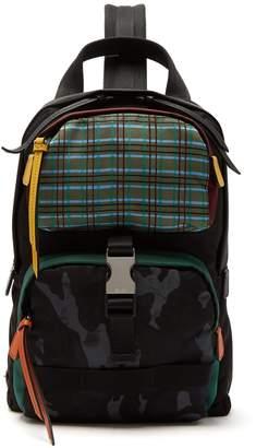 Prada Single-strap nylon backpack