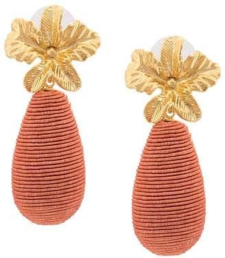 Lizzie Fortunato flower post earrings