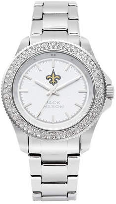 Jack Mason Women's New Orleans Saints Glitz Sport Bracelet Watch