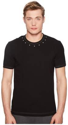 Dolce & Gabbana Pima Stretch Cotton Crew Neck T-Shirt Men's T Shirt