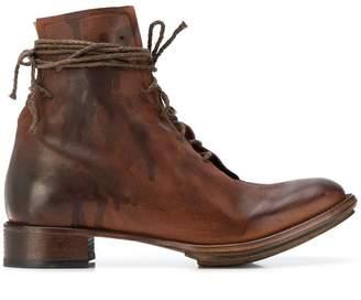 Cherevichkiotvichki elongated lace ankle boots