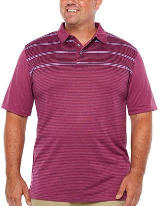PGA Tour TOUR Mens Short Sleeve Polo Shirt Big and Tall