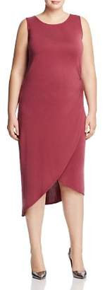 Love Ady Plus Asymmetric Tulip Hem Dress - 100% Exclusive