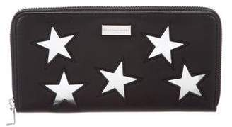 Stella McCartney Vegan Leather Stars Wallet