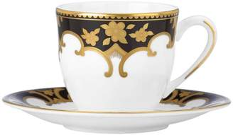 Marchesa by Lenox Baroque Night Espresso Cup & Saucer