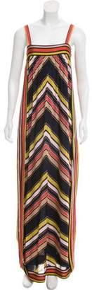 Chanel Knit Chevron Dress Navy Knit Chevron Dress