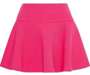 RED Valentino Flared Cotton-Blend Mini Skirt