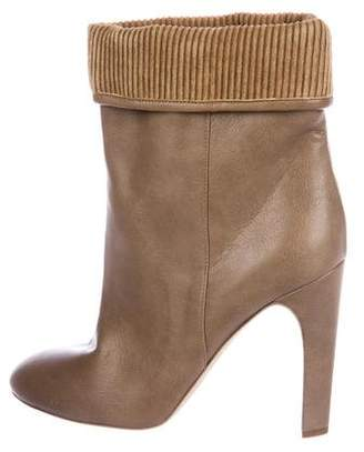 Stella McCartney Vegan Leather Fold-Over Boots