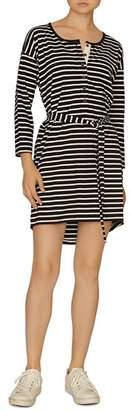 Sanctuary Sullivan Striped Henley Dress
