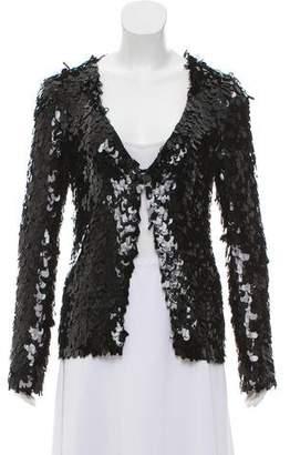 Marc Jacobs Embellished Silk Jacket