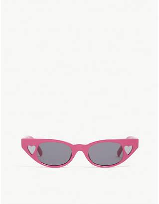 Le Specs The Heartbreaker cat-eye-frame sunglasses