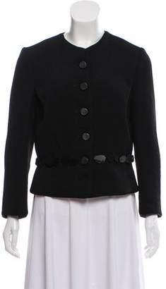 Nina Ricci Twill Embellished Jacket