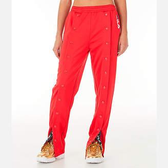 Fila Women's Alice Snap Front Track Pants