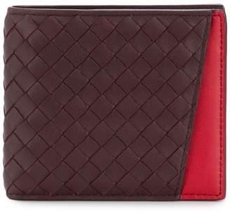 Bottega Veneta interlaced bi-fold wallet
