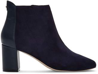 Cole Haan Nella Suede Leather Booties
