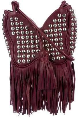 Sonia Rykiel Studded Leather Crossbody Bag