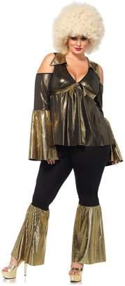 Leg Avenue Women's Plus-Size Disco Diva Costume