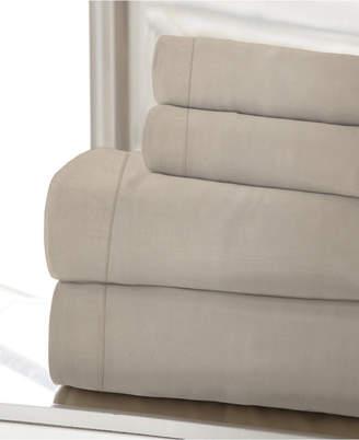 1200 Tc Solid Sateen King Sheet Set Bedding