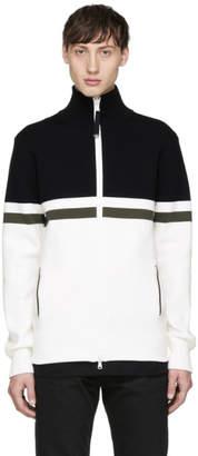 Diesel Black Gold Black and White Track Jacket