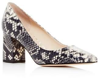 Marc Fisher Women's Zala Pointed-Toe Block-Heel Pumps