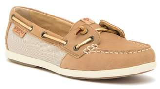 Sperry Coil Ivy Leather Slip-On Boat Shoe Sneaker - Wide Width Available