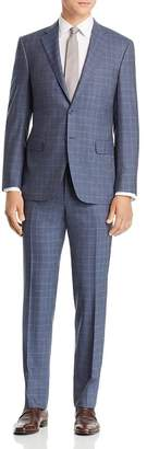 Canali Siena Plaid Classic Fit Suit