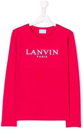 Lanvin Enfant TEEN logo T-shirt