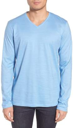 BOSS Tyson Long Sleeve V-Neck T-Shirt