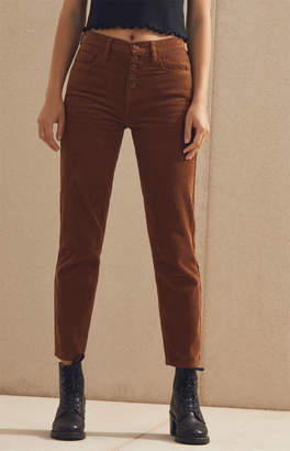 Icon Eyewear Pacsun Toffee Corduroy Vintage Mom Jeans