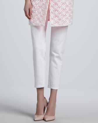 Kate Spade Broome Street Capri Jeans, White