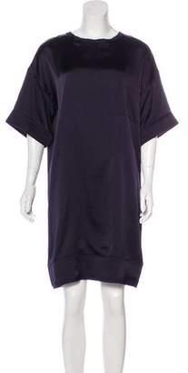 Lanvin Satin Knee-Length Dress