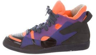 Maison Margiela High-Top Lace-Up Sneakers