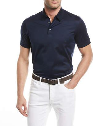 Brioni Cotton Jersey Polo Shirt