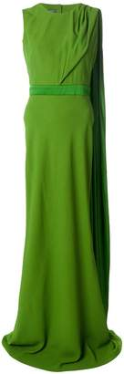 Alexander McQueen (アレキサンダー マックイーン) - Alexander McQueen オープンバック イブニングドレス