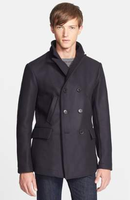 Billy Reid 'Bond' Wool Blend Peacoat