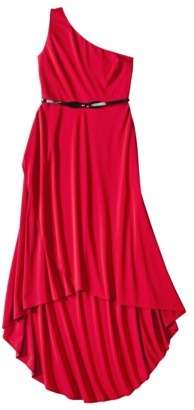 Kate Young For Target® One Shoulder High-Low Evening Dress -Red