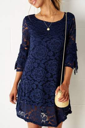 Frontrow Navy Lace Dress