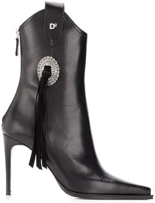 DSQUARED2 rodeo ankle boots