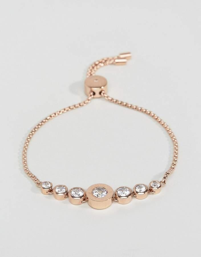 Michael Kors Rose Gold Adjustable Bracelet