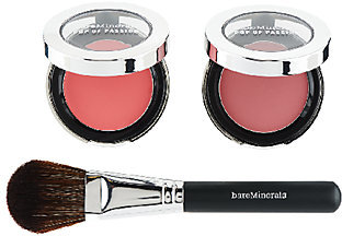 bareMinerals Pop of Passion Blush Balm Duo with Brush