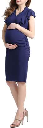 Kimi and Kai Kimi & Kai Danica Body-Con Maternity Dress