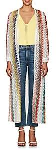 Missoni Mare Women's Geometric Crochet Open-Front Cardigan - White, Multi