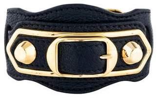 Balenciaga Arena Leather Giant Bracelet