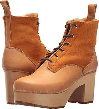 Swedish Hasbeens Women's Hippie Lace up Ankle Boot