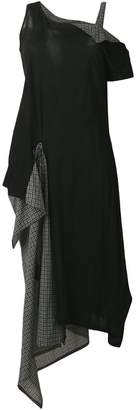 Yohji Yamamoto layered side pouch dress
