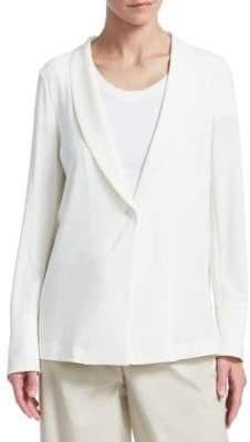 Emporio Armani Fluid Shawl Collar Blazer