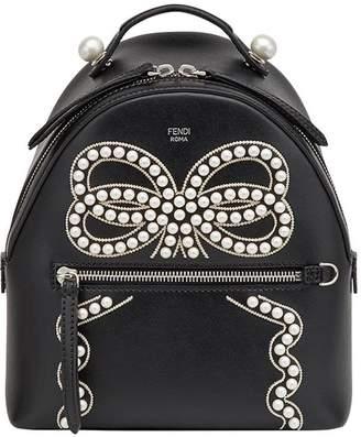 Fendi bow detail mini backpack