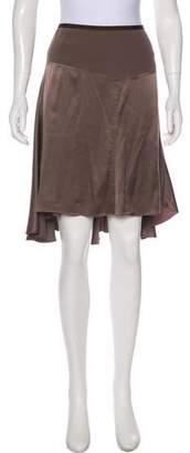 Diane von Furstenberg Silk Knee-Length Skirt