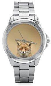 Fox イースター日ギフトギフトLovely ステンレススチールWatch